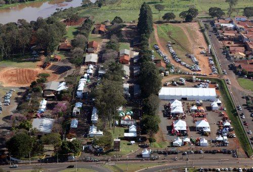 Vista aérea da Agrifam em Lençóis Paulista (foto: César Ramos/Arquivo Fetaesp)