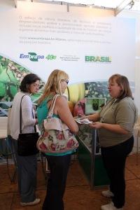 Embrapa faz ampla participação na 11ª Agrifam (foto: Gleice Bernardini-Arq Fetaesp)