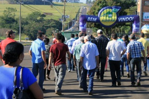Público confere atrativos da 11ª Agrifam em Lençóis Paulista (foto: Giuliano Martins)