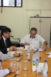 Isaac Leite, presidente da Fetaesp afirma avanços em convênio com BB (Foto: Gleice Bernardini/Fetaesp)
