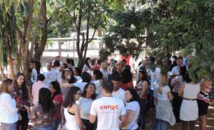 Educandos se reúnem para completar o 2º módulo de estudos (Foto: Contag)