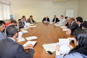 Fetaesp, membro do Conselho do Feap participa da reunião de aprovação de novos recursos (Foto: SAA)